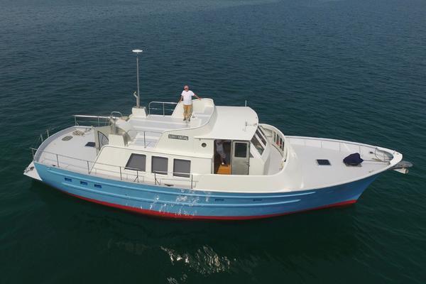 Seaton Pilothouse trawler