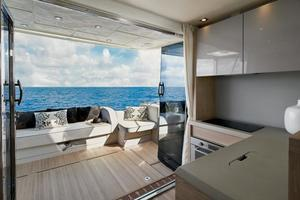 50' Monte Carlo Mc5s 2018 View aft from salon
