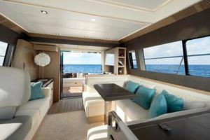 50' Monte Carlo MC5S 2018 View from helm looking aft