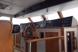 91' Broward Raised Bridge Motor Yacht 1981 PILOTHOUSE
