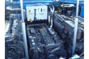 50' Nor-tech 5000v Diesel 2003 Manufacturer Provided Image: Engine Bay
