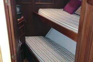56' Hatteras Motoryacht 1983 Bow Guest Stateroom #2