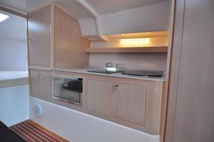 46' Pirelli PZero 1400 Cabin 2018 Interior - Starboard Galley