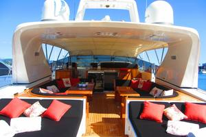 80' Mangusta 80 2003 Bridge Deck