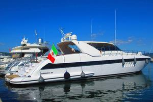 80' Mangusta 80 2003 Starboard Profile
