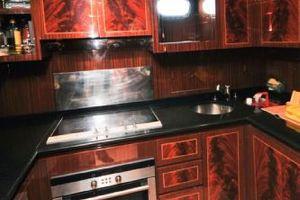 80' Mangusta 80 2003 Galley