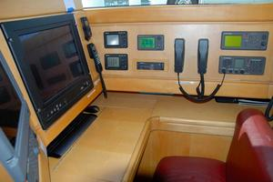 100' Camper & Nicholsons Custom Sloop 1989 Navigation Station