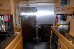 100' Camper & Nicholsons Custom Sloop 1989 Galley