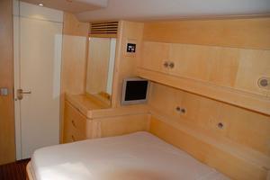 100' Camper & Nicholsons Custom Sloop 1989 Starboard Guest Cabin