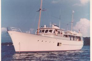 86' Feadship Classic Canoe Stern 1964 Originally launched as 'EXACT'