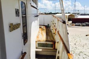 86' Feadship Classic Canoe Stern 1964 Full walk arounds