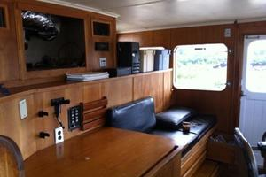 86' Feadship Classic Canoe Stern 1964 Current wheel house