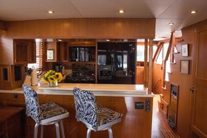 53' DeFever 53 POC 1987 Galley