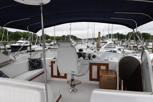 53' DeFever 53 POC 1987 Bridge Helm