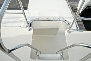 74' Infinity Cockpit Motor Yacht 2001 Ladder to Lower Deck