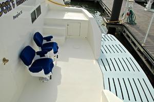 74' Infinity Cockpit Motor Yacht 2001 Swim Platform