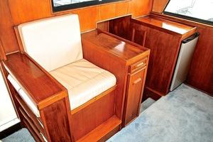 74' Infinity Cockpit Motor Yacht 2001 Pilothouse Interior Stairwell