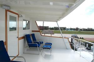 74' Infinity Cockpit Motor Yacht 2001 Upper Aft Deck View 1