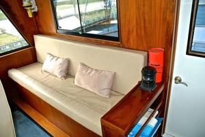 74' Infinity Cockpit Motor Yacht 2001 Pilothouse Guest Seating