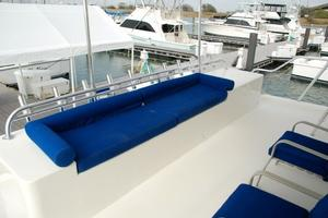 74' Infinity Cockpit Motor Yacht 2001 Lower Aft Deck View 2