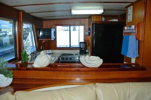 74' Infinity Cockpit Motor Yacht 2001 Galley View 2
