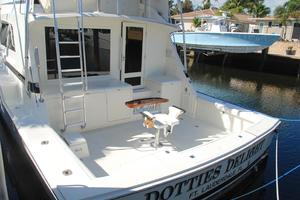 60' Bertram Convertible 1991 Cabin Entry Door