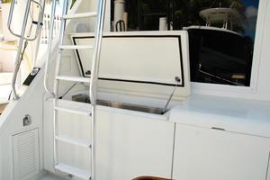 60' Bertram Convertible 1991 Top loading Freezer Cabinet