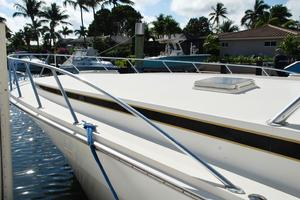 60' Bertram Convertible 1991 Fore Deck Port Side View