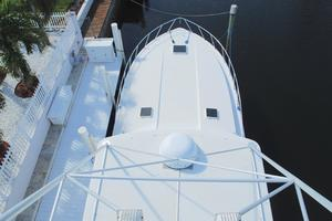 60' Bertram Convertible 1991 Fore Deck Tower View