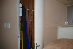 60' Bertram Convertible 1991 VIP Closet