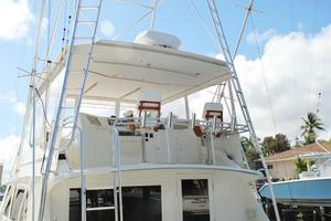 60' Bertram Convertible 1991 Flybridge