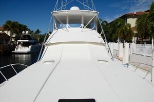 60' Bertram Convertible 1991 Fore Deck Aft View
