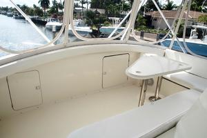 60' Bertram Convertible 1991 Flybridge Forward Seating