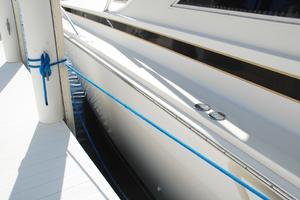 60' Bertram Convertible 1991 Hull Port Side