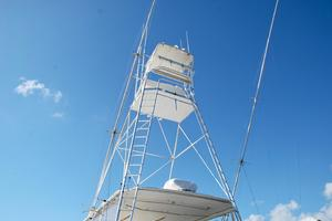 60' Bertram Convertible 1991 Tuna Tower