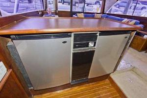 48' Ocean Super Sport 1988 Galley Refrigerators