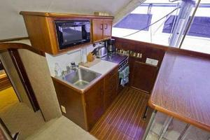 48' Ocean Super Sport 1988 Galley