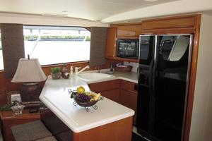 60' Viking 60 Cockpit Sport Yacht 2000 Galley