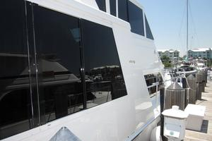 60' Viking 60 Cockpit Sport Yacht 2000 Side View