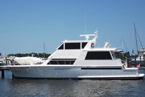 60' Viking 60 Cockpit Sport Yacht 2000 Profile