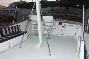 61' Hatteras Cockpit Motor Yacht 1981 Flybridge