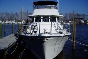61' Hatteras Cockpit Motor Yacht 1981 BowView