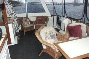 61' Hatteras Cockpit Motor Yacht 1981 Aft Deck