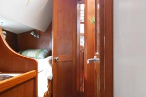 57' Wellington Pilothouse 1989 Starboard guest with folding bunk