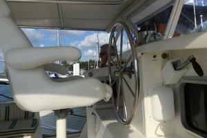 57' Wellington Pilothouse 1989 Outside helm
