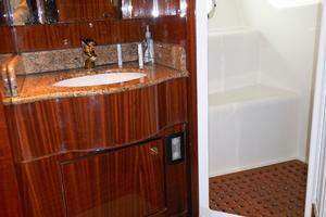 58' Symbol 58 Pilothouse 2006 Guest Head - separate shower