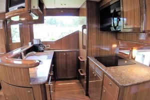 58' Symbol 58 Pilothouse 2006 Galley