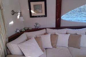 68' Lazzara 68 Pilothouse Motoryacht 2005 New upholstery