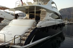 68' Lazzara 68 Pilothouse Motoryacht 2005 Starboard aft