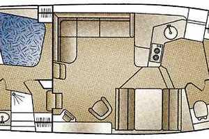 40' Carver 404 Cockpit Motor Yacht 1999 Manufacturer Provided Image